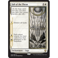 Fall of the Thran - Foil