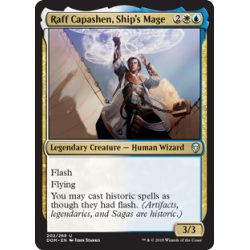 Raff Capashen, Ship's Mage - Foil