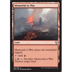 Mémorial à la guerre - Foil