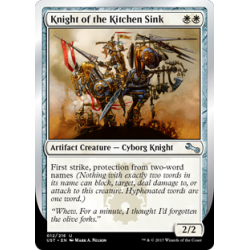 Knight of the Kitchen Sink (e)