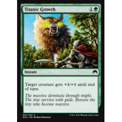 Titanisches Wachstum