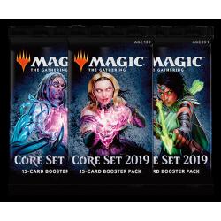 Hauptset 2019 Booster Draft Pack (3x Boosterpackungen)