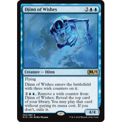 Djinn of Wishes - Foil