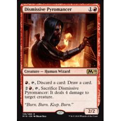 Pyromancien dédaigneux - Foil