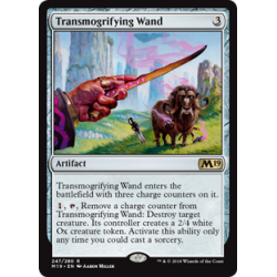Transmogrifying Wand - Foil