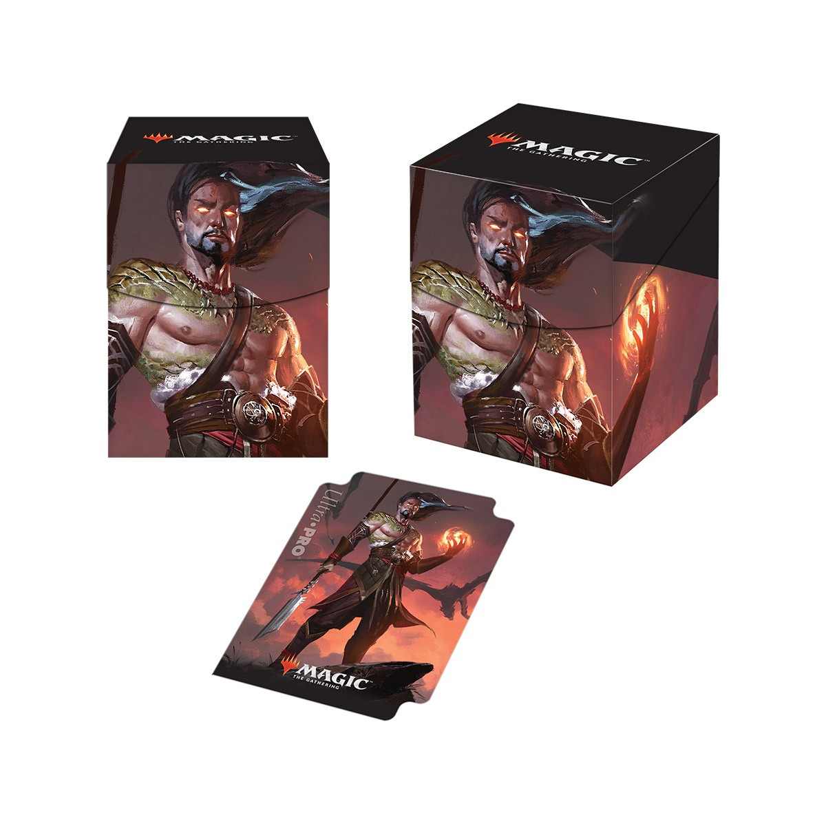 Ultra Pro - Magic 2019 100+ Deck Box - Sarkhan, Fireblood