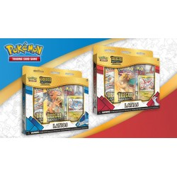 Pokemon - Majesté des Dragons - Set Collections avec Pin's (Latios + Latias)