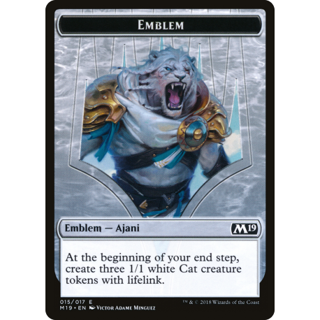 Ajani, Adversary of Tyrants Emblem