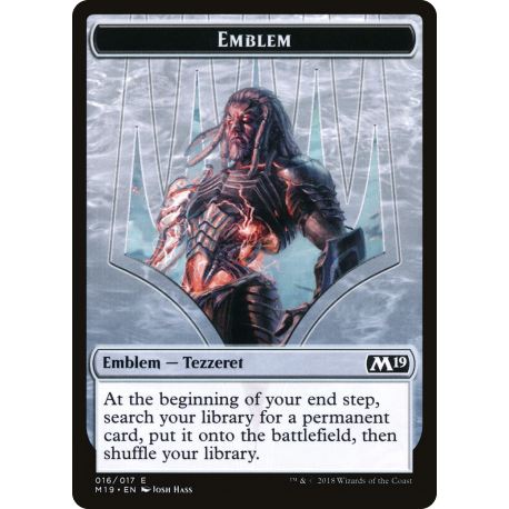 Tezzeret, Artifice Master Emblem
