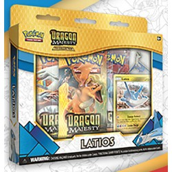 Pokemon - Majesté des Dragons - Collection avec Pin's Latios