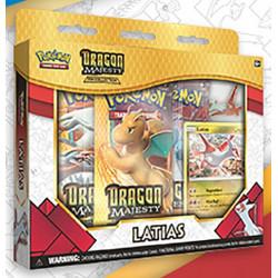 Pokemon - Majesté des Dragons - Collection avec Pin's Latias