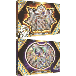 Pokemon - Solgaleo-GX-Box & Lunala-GX-Box Boxes Set