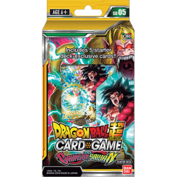 Dragon Ball Super - Deck De Démarrage Série 5 - The Crimson Saiyan