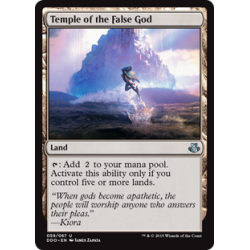Temple of the False God
