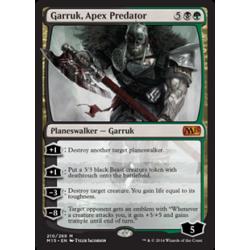Garruk, Oberstes Raubtier