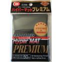 KMC - Premium Hyper Mat Standard 50ct Sleeves - Black