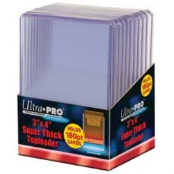 Ultra pro -  Super Thick Toploader 180PT, 10ct