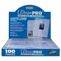 Ultra Pro - Silver 9-Pocket Pages Display, 100ct