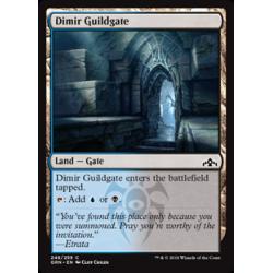 Dimir Guildgate (Version 2) - Foil