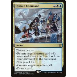 Ojutai's Command - Buy-a-Box Promo