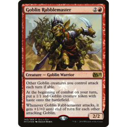 Goblin Rabblemaster - Buy-a-Box Promo