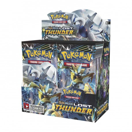 Pokemon - SM8 Lost Thunder Booster Display (36 Boosters)