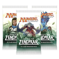 Battle for Zendikar Booster Draft Pack (3x)