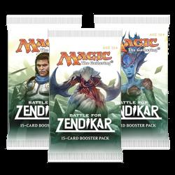 La Bataille de Zendikar Booster Draft Pack (3x)