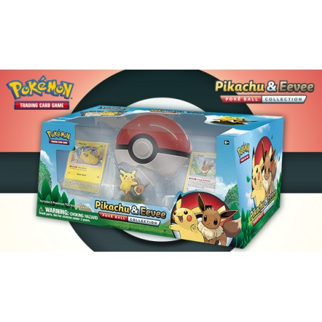 Pokemon - Poké Ball Collection - Pikachu & Eevee
