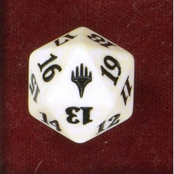 D20 Spindown Die - Planeswalker Logo