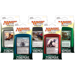 Battle for Zendikar Intro Packs - All 5