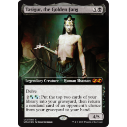 Tasigur, the Golden Fang - Ultimate Box Topper