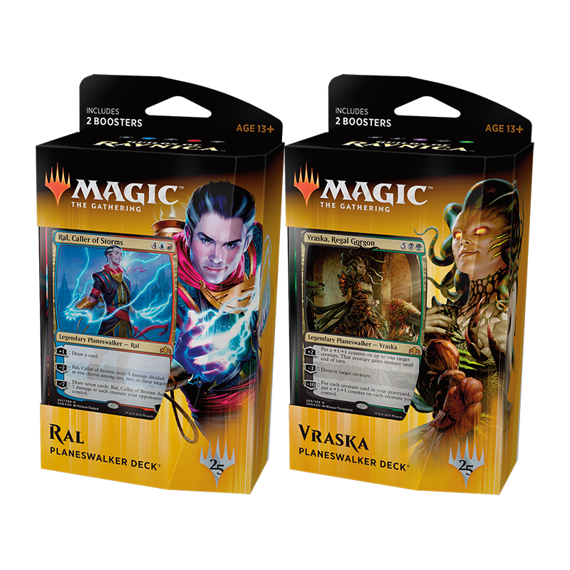 Guilds Of Ravnica Planeswalker Deck Set (both decks) - The Mana Shop