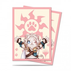 Ultra Pro - Chibi Collection 100 Sleeves - Ajani - Lion Hug