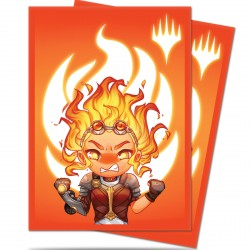 Ultra Pro - Chibi Collection 100 Sleeves - Chandra - Maximum Power