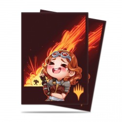 Ultra Pro - Chibi Collection 100 Sleeves - Chandra - LOL!