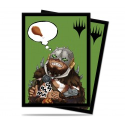 Ultra Pro - Chibi Collection 100 Sleeves - Garruk - I'm Starving!
