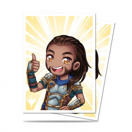 Ultra Pro - Chibi Collection 100 Sleeves - Gideon - Good Job!