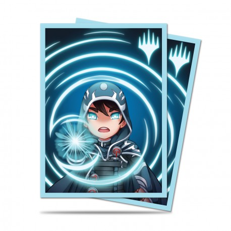 Ultra Pro - Chibi Collection 100 Sleeves - Jace - Mystic