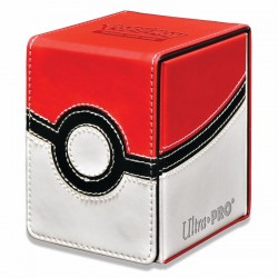 Ultra Pro - Alcove Flip Box - Pokémon Poke Ball