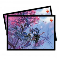 Ultra Pro - Ultimate Masters 100 Sleeves - Bitterblossom