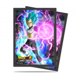Ultra Pro - Dragon Ball Super 65 Sleeves - God Charge Vegeta
