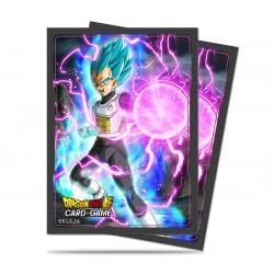 Ultra Pro - Dragon Ball Super 65 Sleeves - God Charge Vegeta