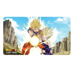Ultra Pro - Dragon Ball Super Playmat with Tube - Father-Son Kamehameha
