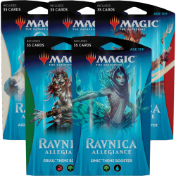 Set Theme Booster L'allégeance de Ravnica (5x Booster)