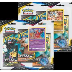 Pokemon - SM9 Gioco di Squadra 3-Pack Blister - Bundle (Deoxys + Ultra Necrozma)