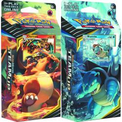 Pokemon - SM9 Gioco di Squadra - Theme Deck Bundle (Charizard + Blastoise)
