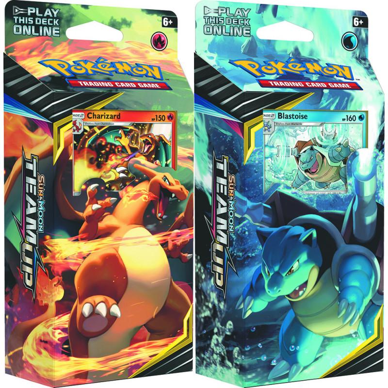 Pokemon - SM9 Team Up - Theme Deck Bundle (Charizard +