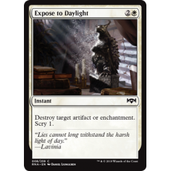 Expose to Daylight