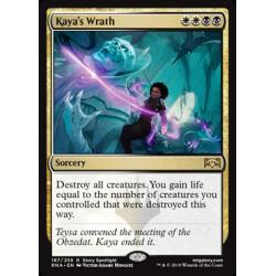 Kaya's Wrath - Foil